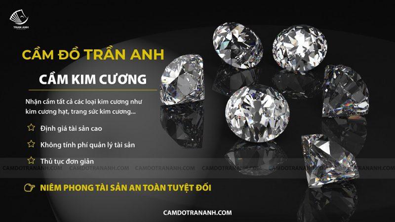 Cầm kim cương lãi suất thấp nhất thị trường